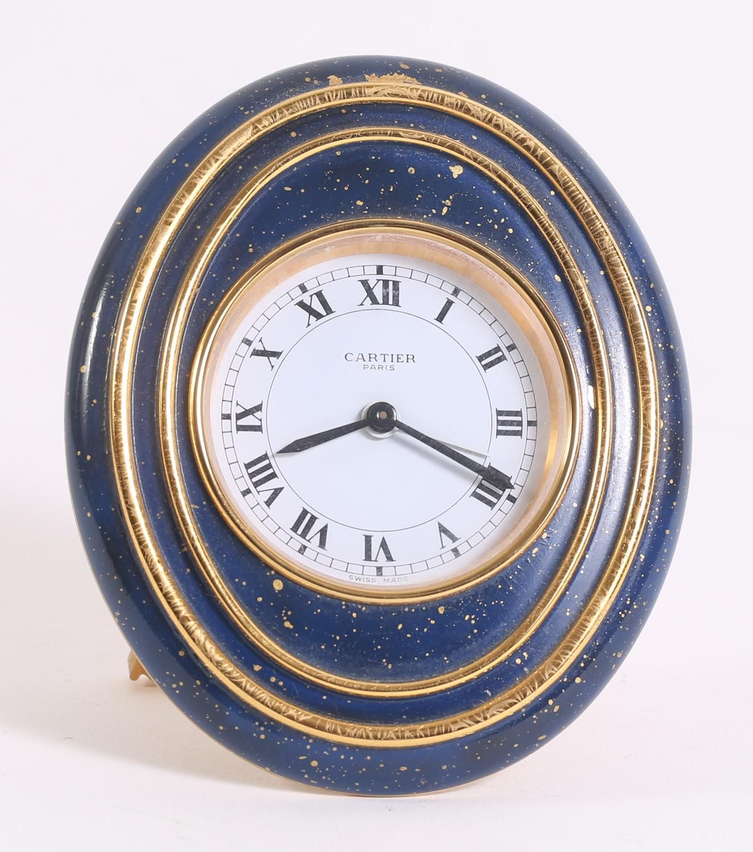 Cartier enamel and gilt metal clock clocks watches pinterest cartier enamel and gilt metal clock amipublicfo Images