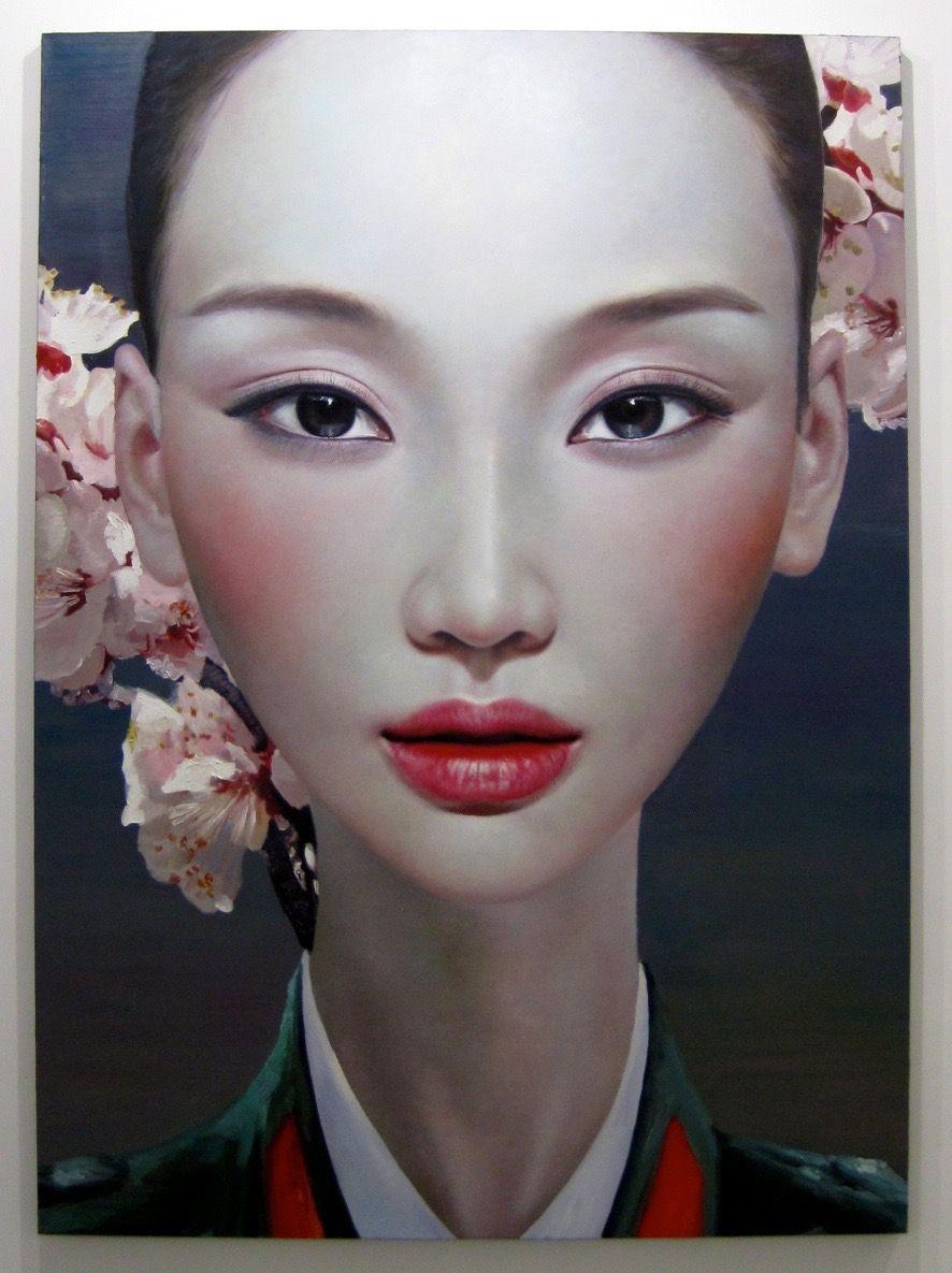 Long Jian Portrait painting