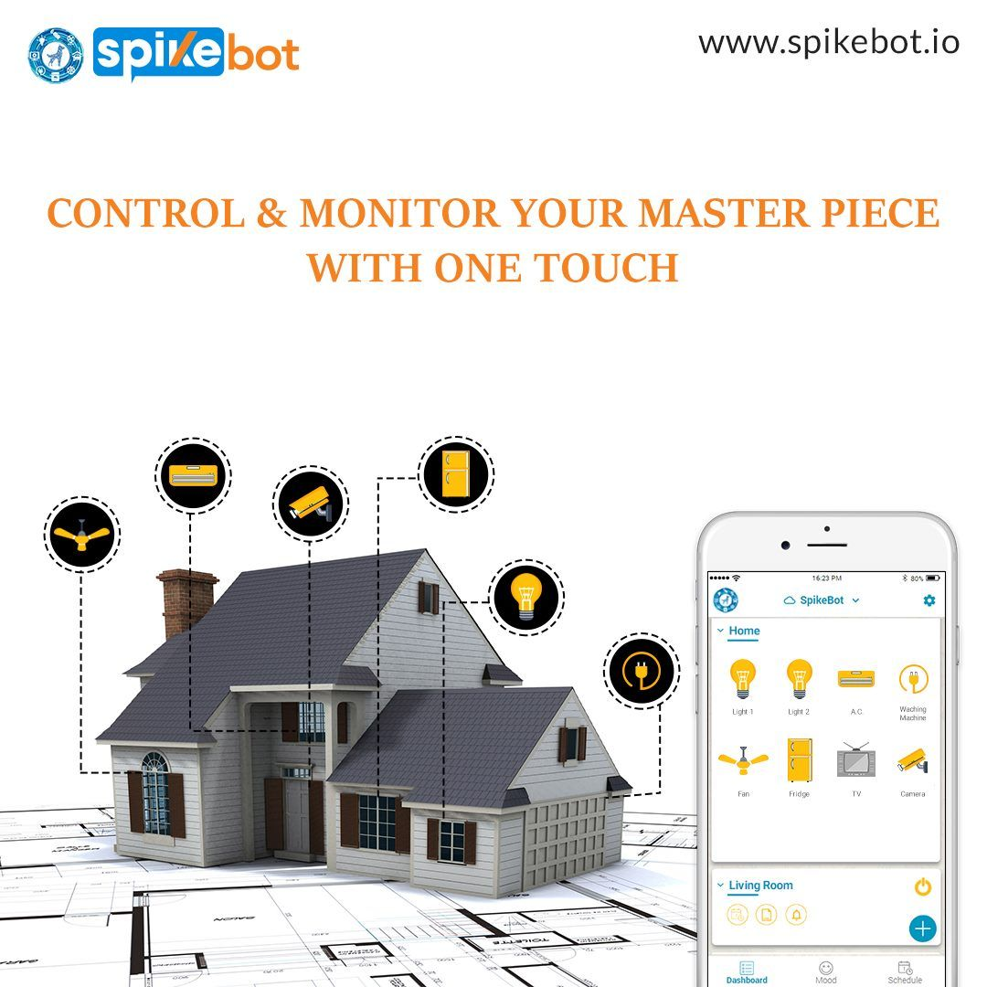 Welcome To Spikebot We Make The Latest Iot Based Smart Home