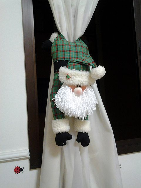 Noel cortina by Leozinha Docinho, via Flickr Natal Pinterest