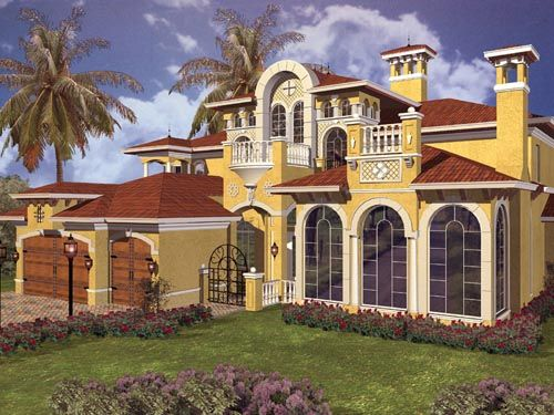 Italian Style Houses italian style house plans - 5966 square foot home , 2 story, 5