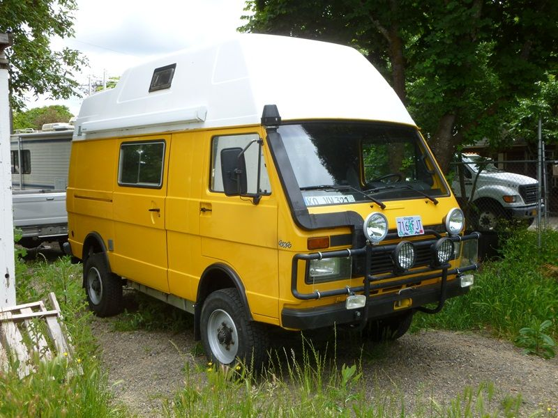 1990 Vw Lt 4 4 Westfalia Camper The Vanagon Syncro S Gnarly