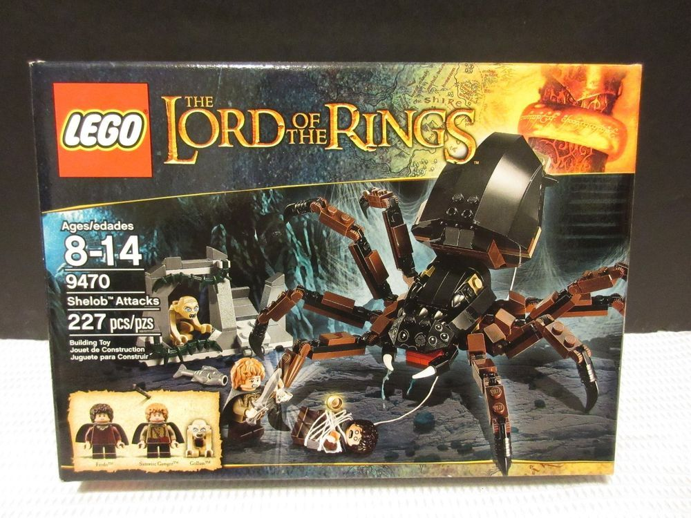 New Lego 9470 Lord Of The Rings Shelob Attacks Big Spider Samwise