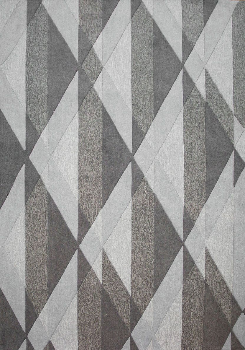 Malabar Diamond Textured Gray Area Rug Products In 2019