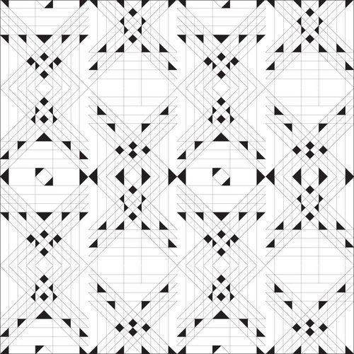 Almost Grid Print Design Pattern Pattern Design Inspiration Geometry Pattern
