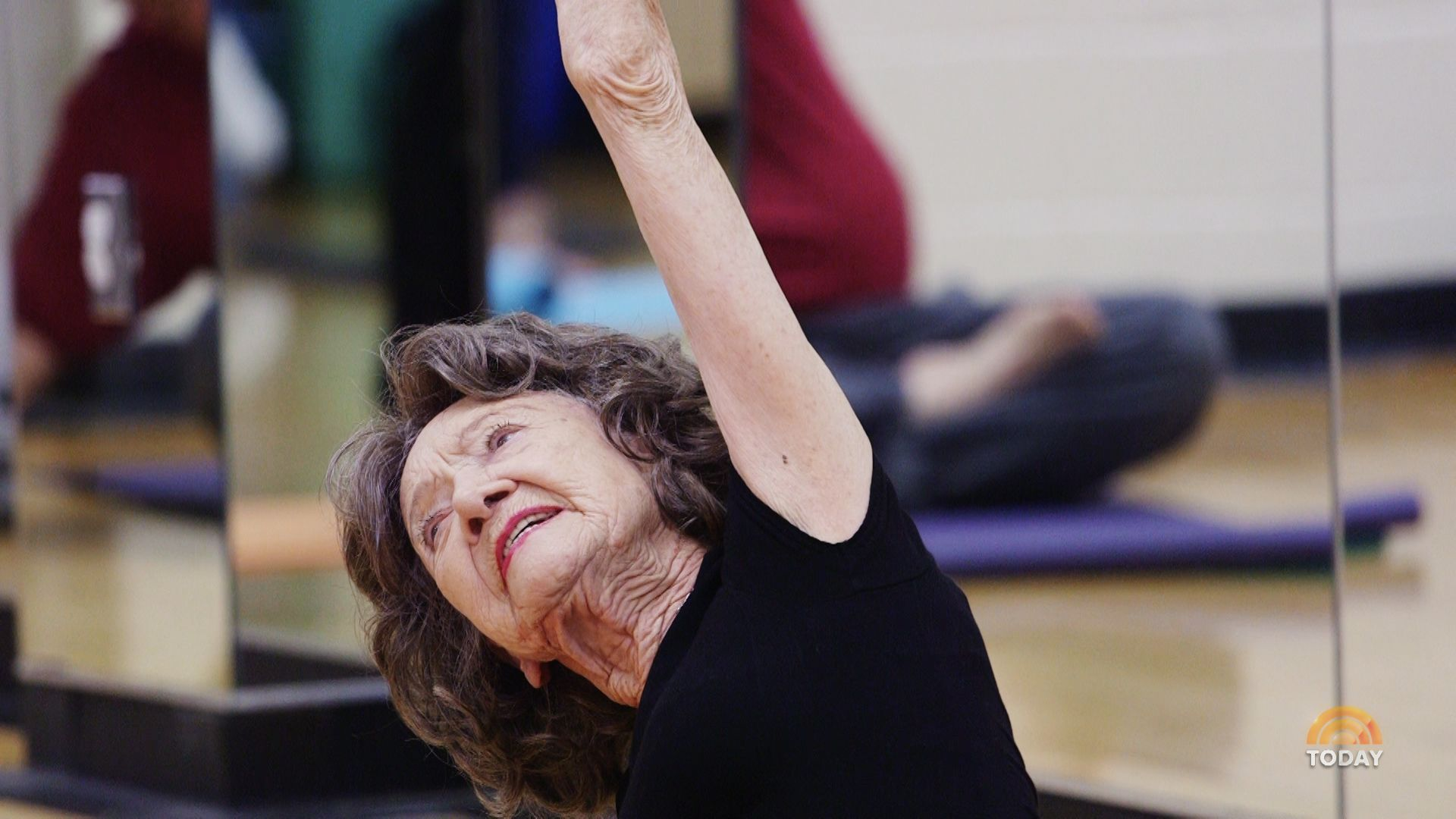 5 secrets for staying positive from world's oldest yoga teacher, 96