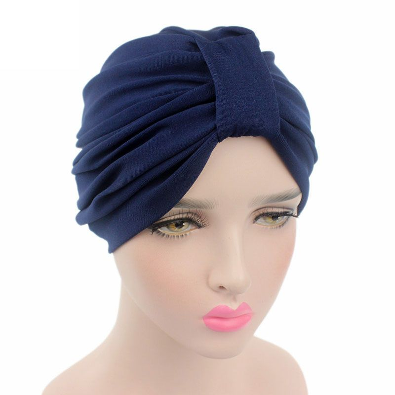 >> Click to Buy << New Fashion Cotton Solid Wrinkle Cap Chemotherapy Patient Cap Women Casual Piles Cap Wrinkle Women Beanie Muslim Hats F0238 #Affiliate