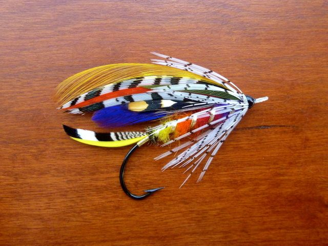 """Some Flies from """"Classic Salmon Fly Patterns"""" by Michael D ... Classic Atlantic Salmon Fly Patterns"""