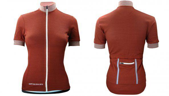 Violette Women Merino jersey cafeducycliste.com