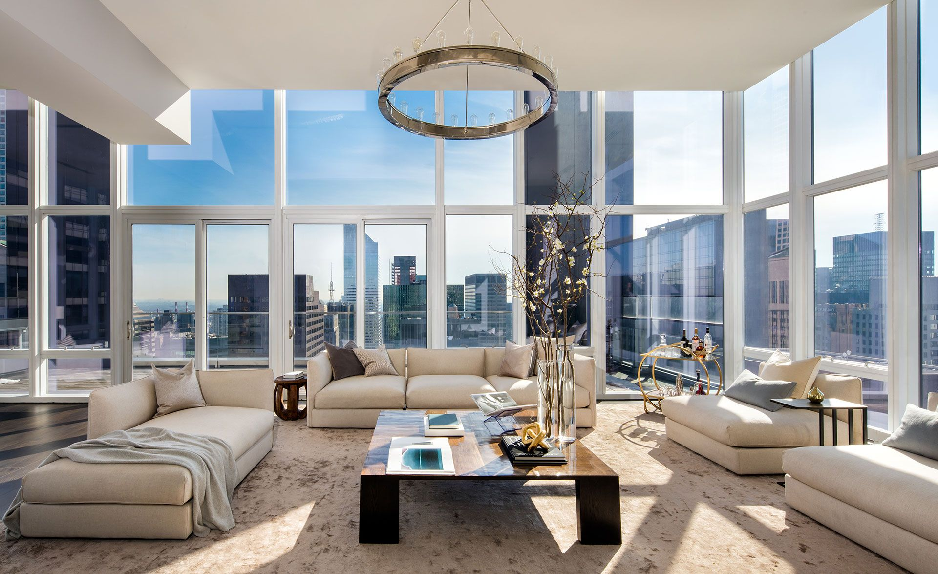 baccarat penthouse new york living room nyc pent house rh pinterest com