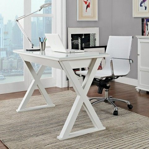 Glass Writing Desk With Drawers White Saracina Home Home Office Furniture Glass Computer Desks Home Office Design