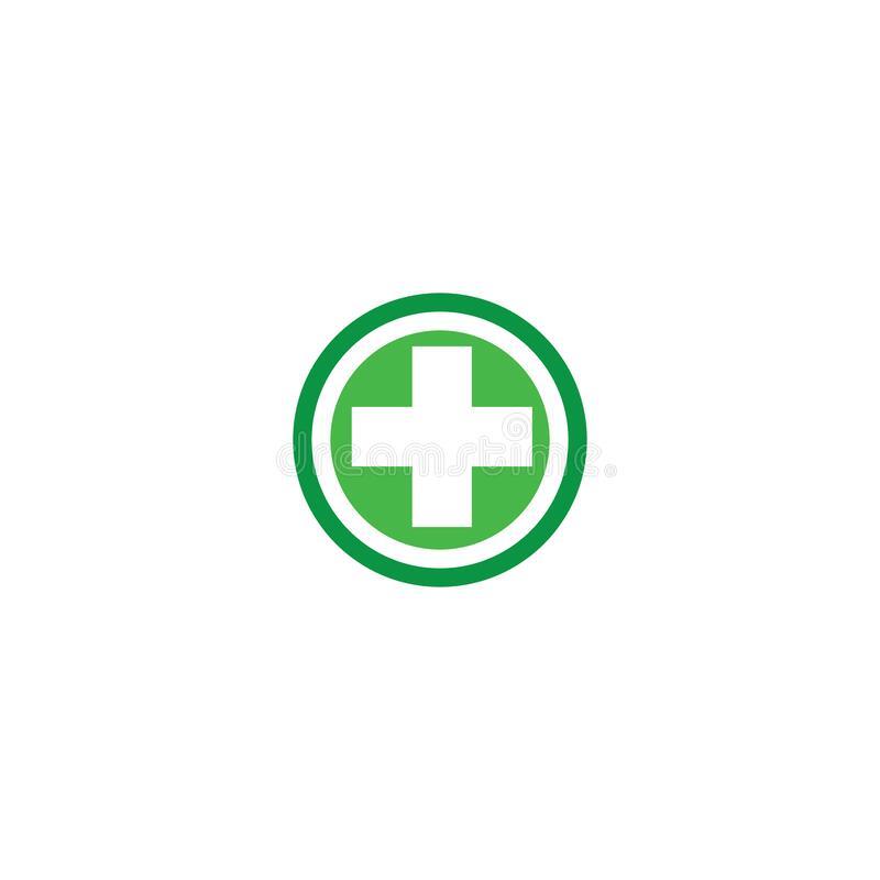 Cross Medical Logo Template Vector Symbol Nature Royalty Free Illustration Logo Templates Medical Logo Medical Logo Design