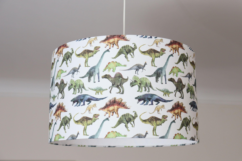 Lampenschirm Kinderzimmer Dinosaurier, Babyzimmer Jungs