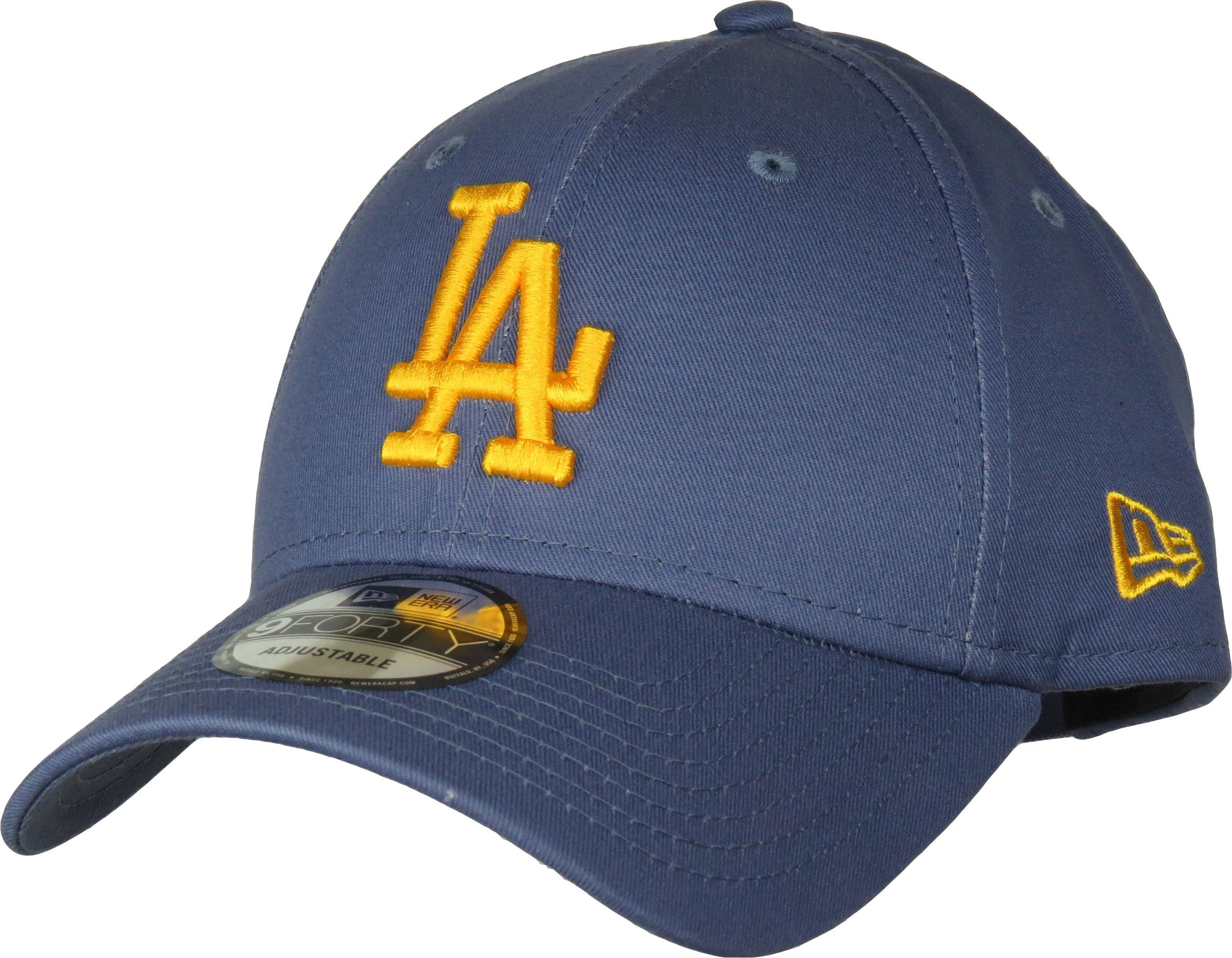 57adbdd42f2 New Era 940 League Essential Baseball Cap Slate Blue