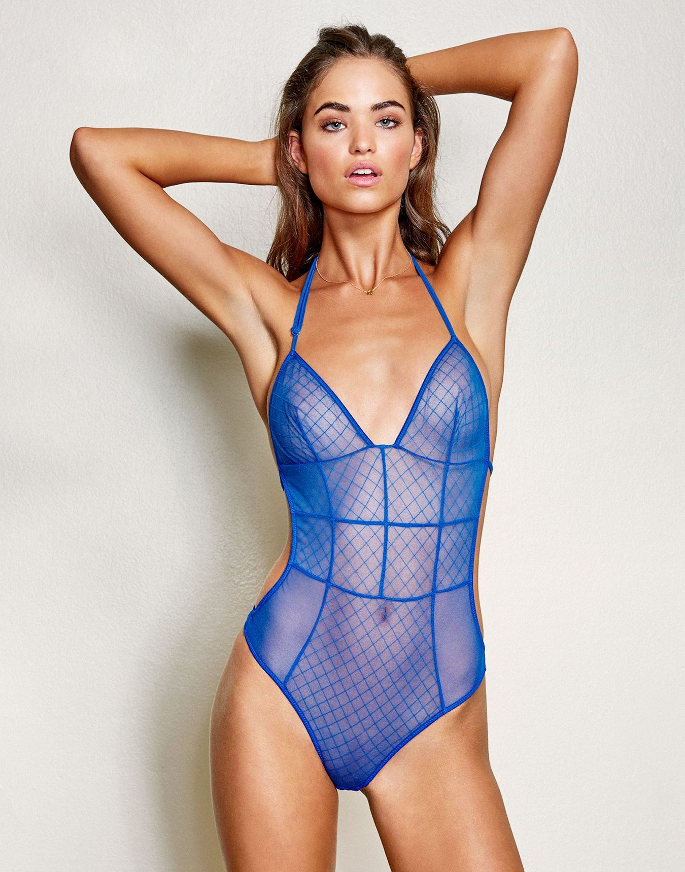 Célèbre Patterned mesh and corset-like seamlines take this uber sexy  RI26