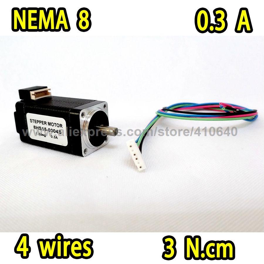 Email Infochinasmartsensorcom Nema 8 Stepper Motor Model 8hs15 4 Wire Wiring Harness 0304s 18 Degree
