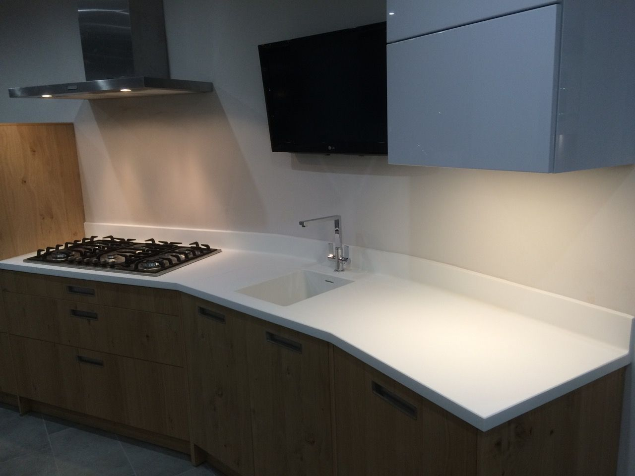 A domestic worktop we have produced here at Qubicle. Full template ...