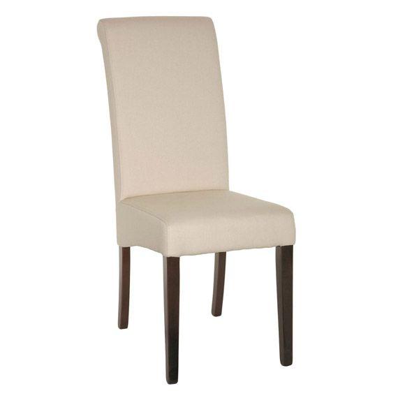 Echo High Back Dining Chair Dark Wood Legs High Back Dining