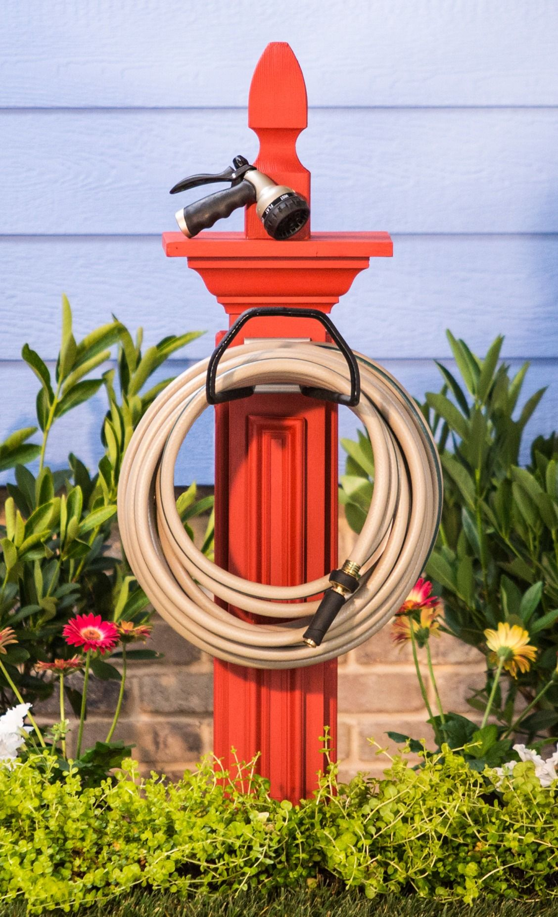 Wrangle your water hose with an easy, customizable DIY