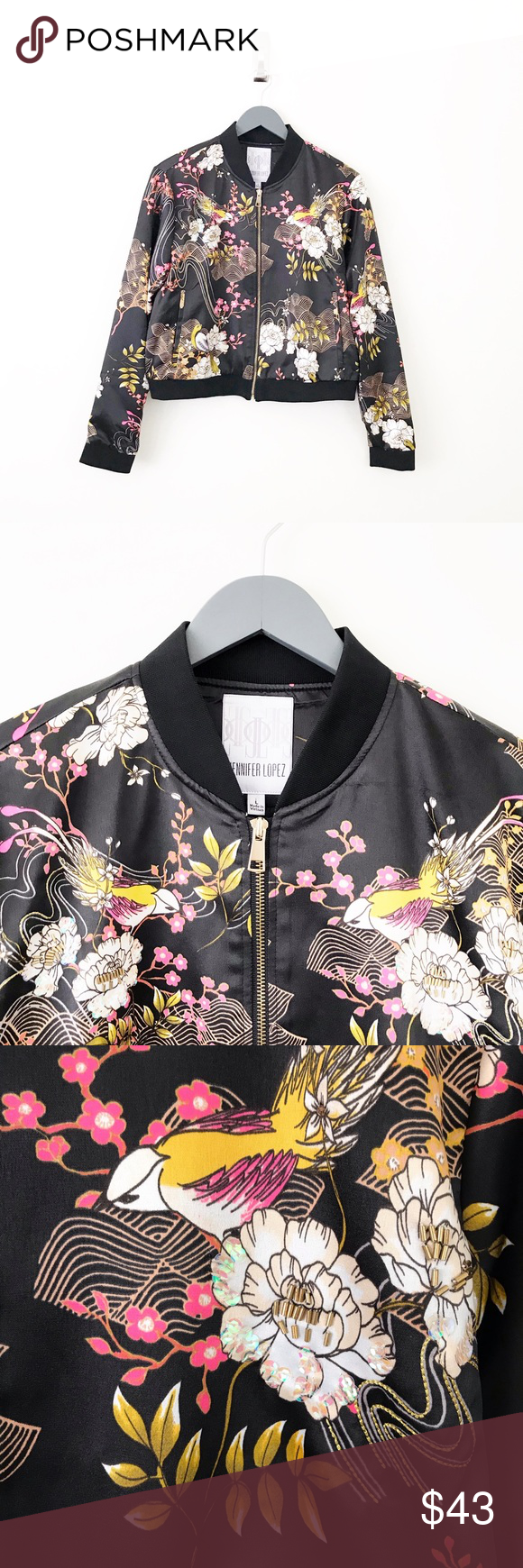 Womens Plus Size Bomber Jacket Ladies Camouflage Floral Print Coat Long Sleeve Ribbed Zip Closure Nouvelle Collection