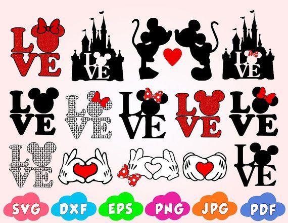 Download Love svg,love mickey mouse svg,Love Disney SVG,love minnie ...