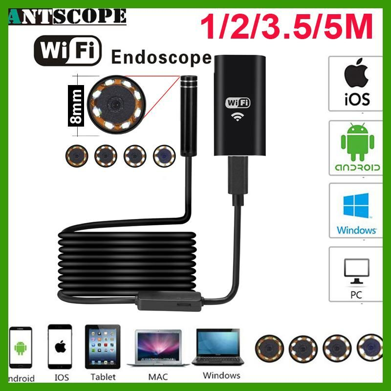 Antscope wifi endoscope camera android 720p iphone