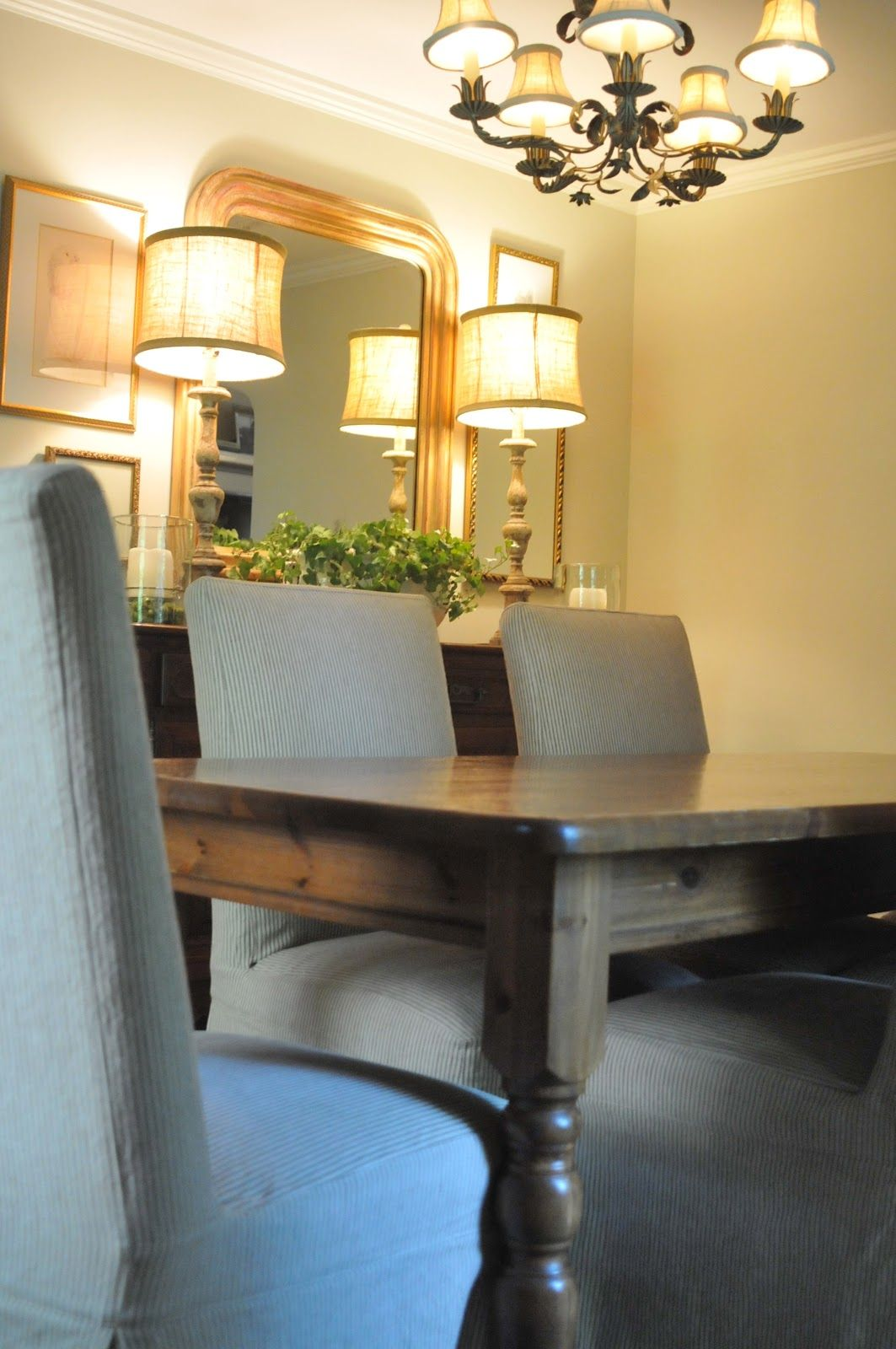 Great dressy casual dining room | 2013 - Memory of a House ...