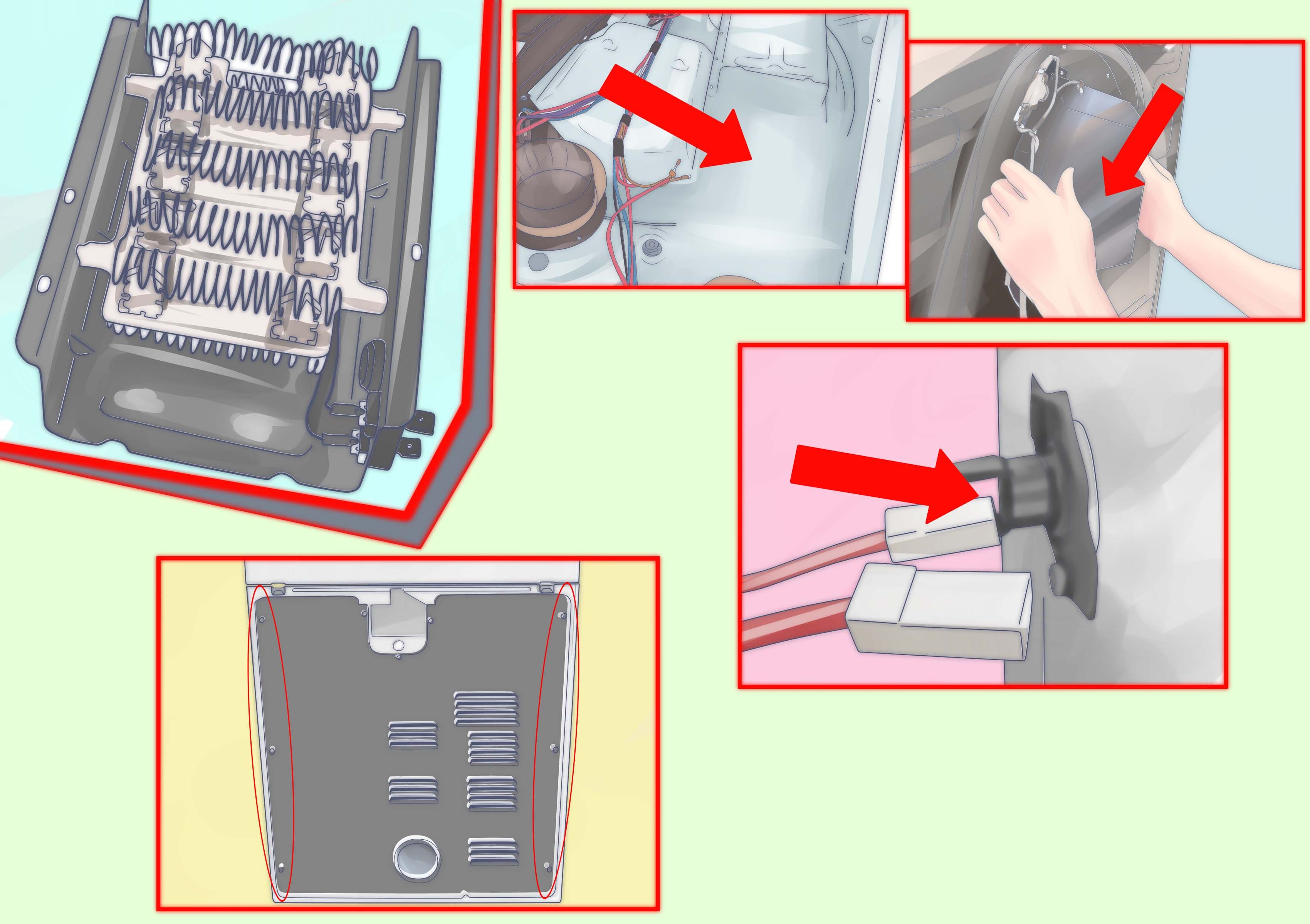 12++ Where is the heating element on a dryer info