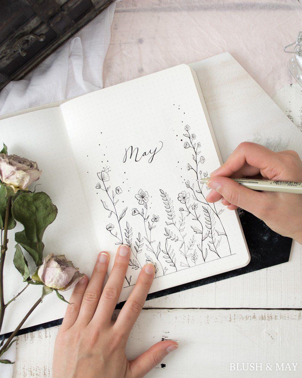 Full May 2018 Setup Printable for Journal or Planner | Etsy