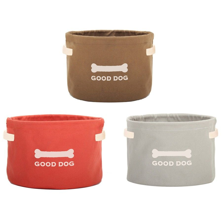 Good Dog Canvas Dog Toy Storage Dog Toy Storage Durable Dog