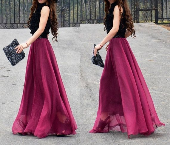 chiffon maxi long dress diy - Google pretraga | Made by me In ...