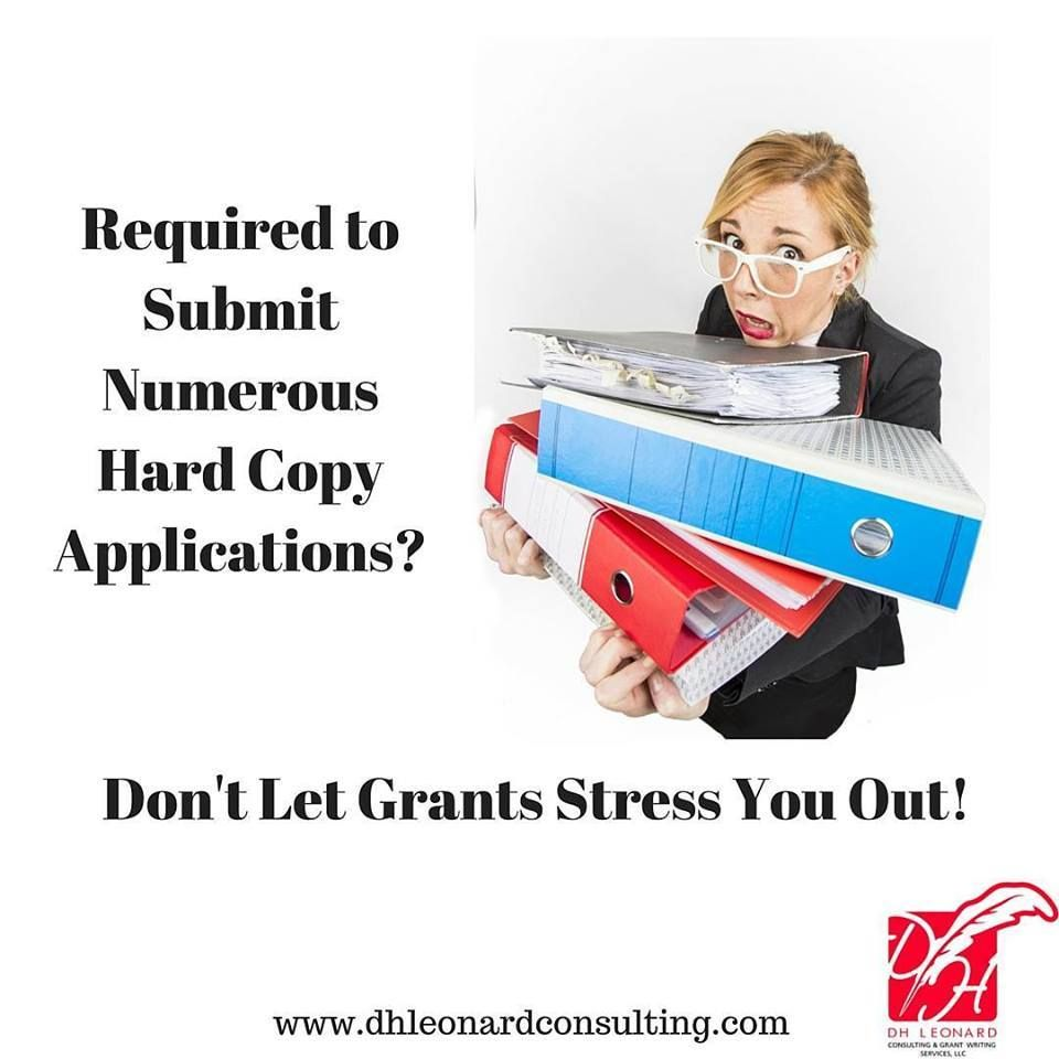 Hard Copy Grant Applications Are Not Just A #TBT Memory