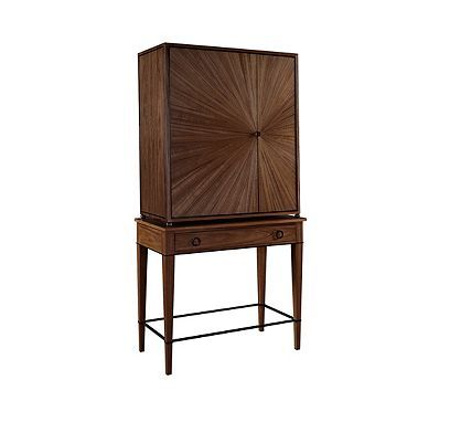 Ellington Circle Bar Cabinet Ba from the 1945 Collection collection