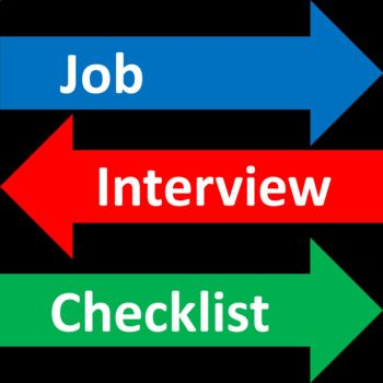 Job Interview Checklist - Free Job Interview Lessons and