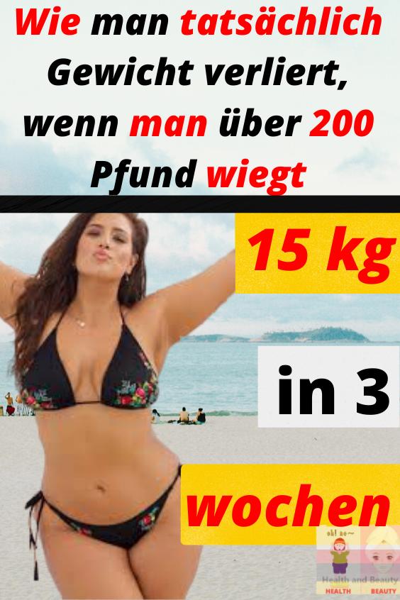 Wie man Gewicht 15 Kilo in Pfund verliert