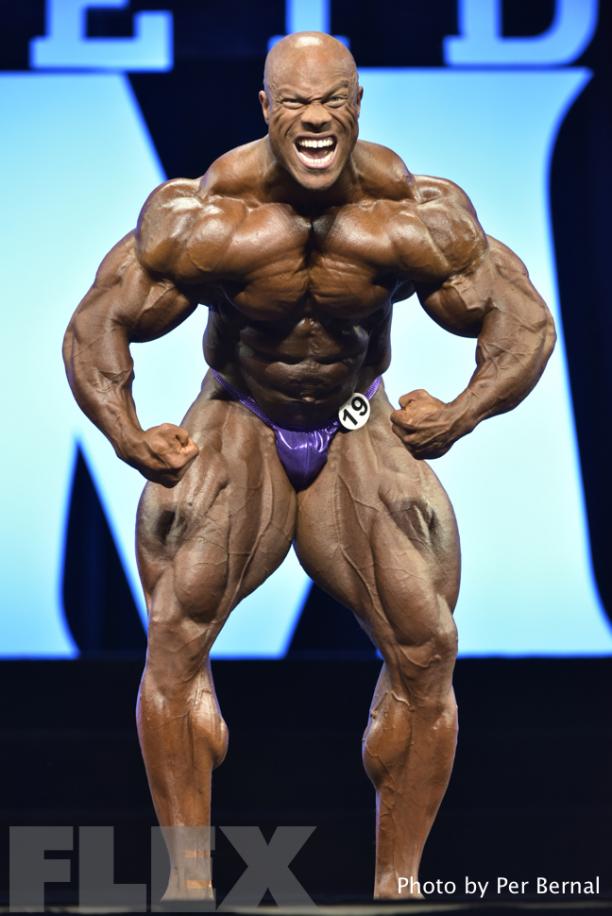 Phil Heath Open Bodybuilding 2017 Olympia