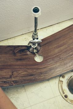 Tips For Installing Trafficmaster Allure Vinyl Plank Flooring In A - Installing vinyl flooring in bathroom