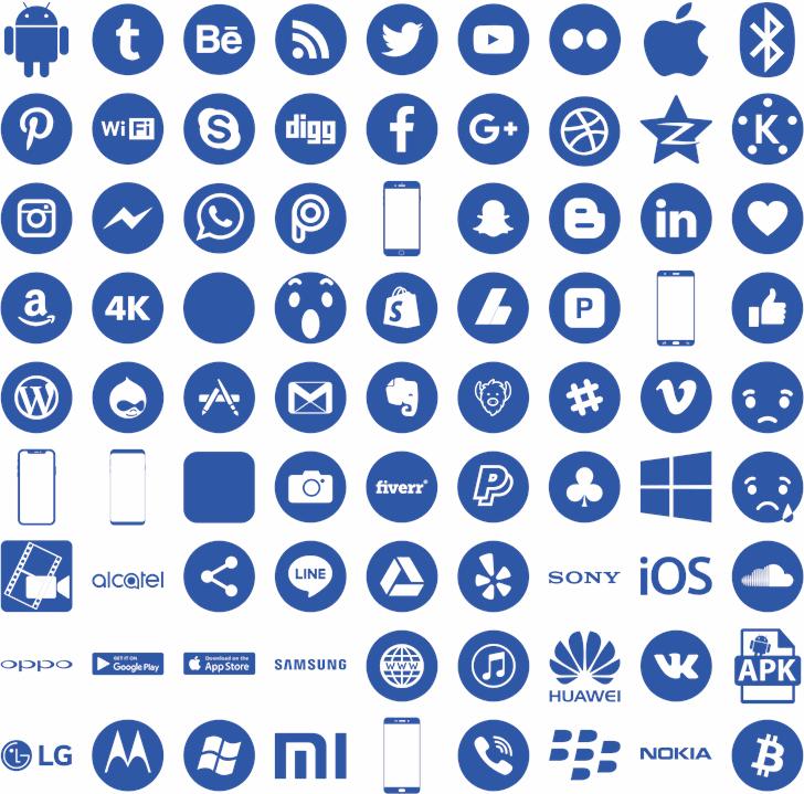 Smartphone Pro Font Elharrak Fontspace Free Fonts Download Smartphone Shop App Logo