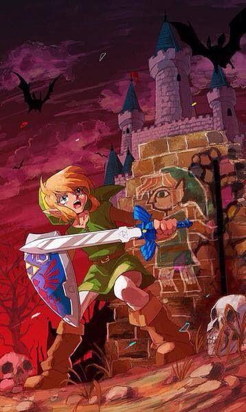 Legend Of Zelda A Link Between Worlds With Images Zelda Art