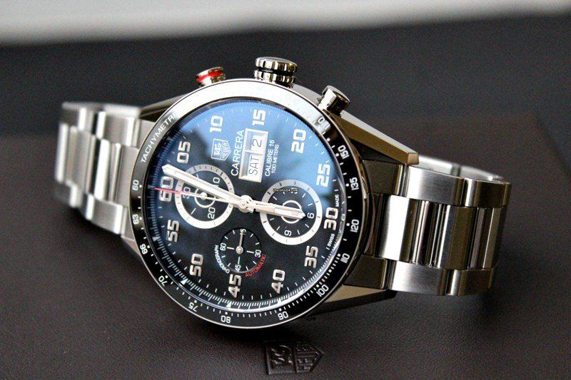 c00580a4dd9b9 TAG Heuer Carrera Men s CV2A1R.BA0799 Watch Review