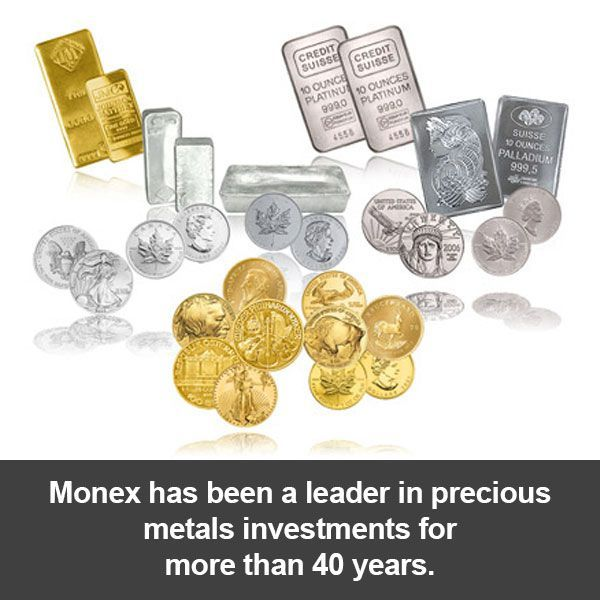 Monex Has Been The Leader In Precious Metals Investment Programs For More Than 40 Years