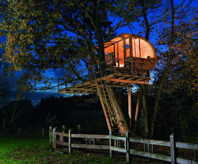 Insane Tree Houses the 9 coolest, most innovative, and flat-out insane tree houses in