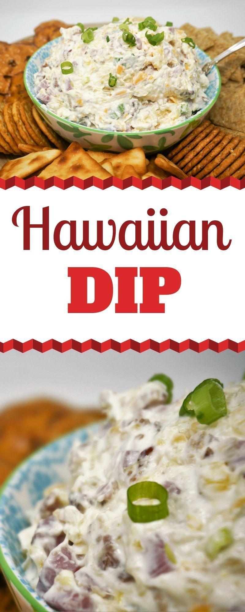 Easy Hawaiian Dip   Grace Like Rain Blog #hawaiianfoodrecipes