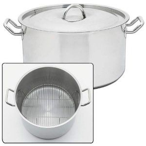 New Precise Heat 42qt Waterless Stockpot Surgical Stainless Steel Construction Riveted Handles . $220.00