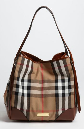 Burberry House Check Medium Over Shoulder Tote Available At Nordstrom
