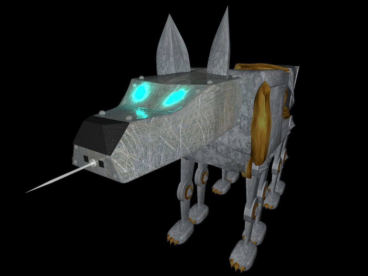 0011 Ray Bradbury's Fahrenheit 451 Mechanical Dog. Book