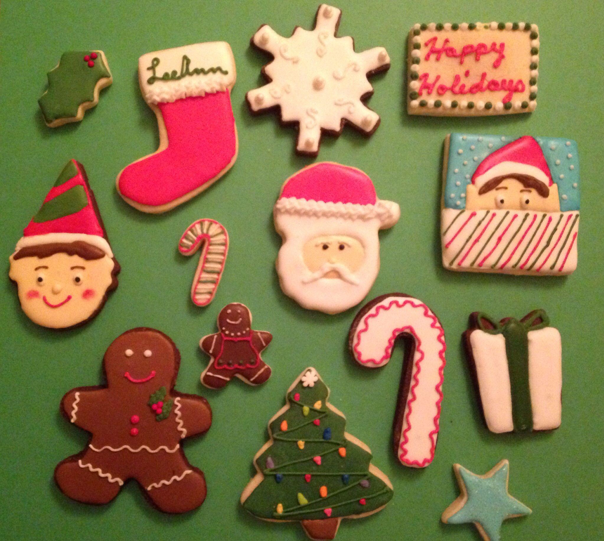 Custom Christmas Cookies Christmas Christmas Cookies Cookies