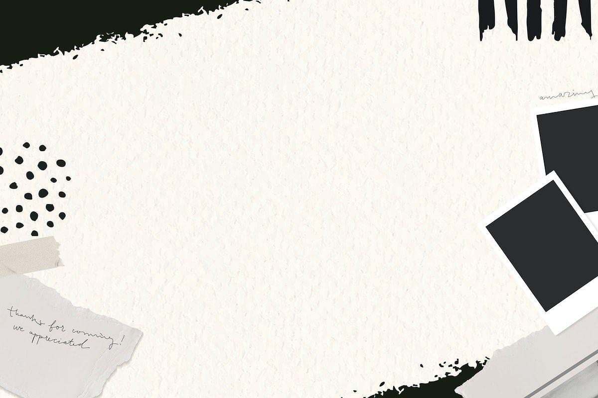 ripped paper framed black background vector premium