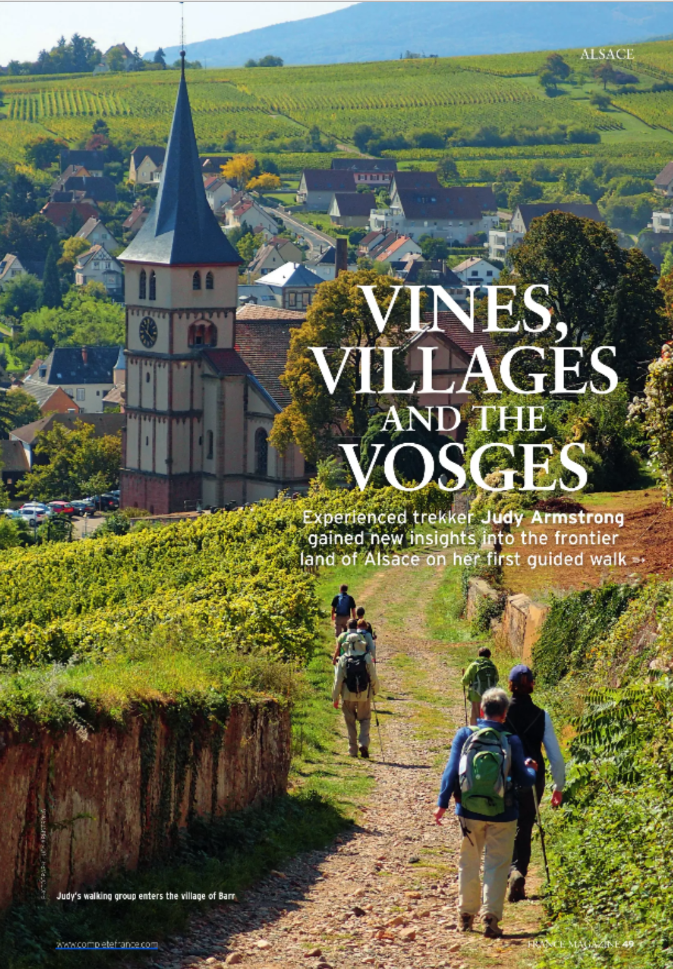 Wein, Dörfer und die Vosges!  Jetzt bei readly lesen:   France Magazine August 2016 - Seite 49