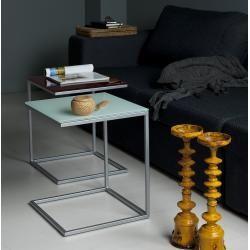 Photo of Design side table 35 cm wide oak white wash veneered BrandolfBrandolf – bingefashion.com/dekor